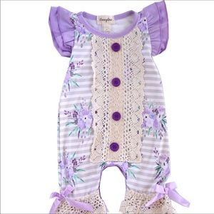 Other - The Lilac LaLa Baby Romper